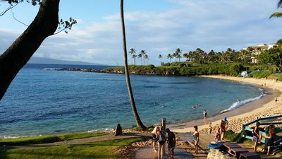 Kapalua Bay...walking distance from condo.