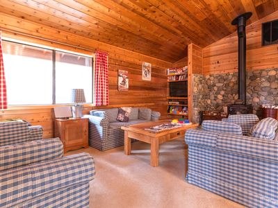Photo for A private game area, close to slopes, on-site golf & shared pools and hot tubs!