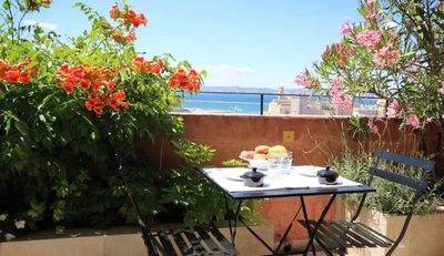 Photo for 2 floors apartment with panoramic terrace over the Vieux Port