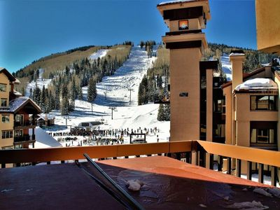 Photo for Top Floor Penthouse - Ski In/Out - Private Hot Tub and Sauna