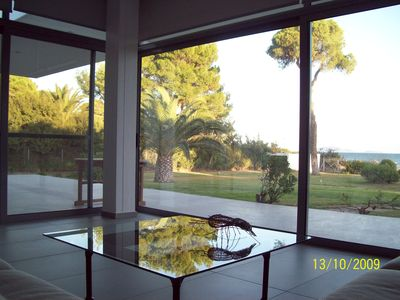 Photo for Stunning beach house 30 meters from the water.