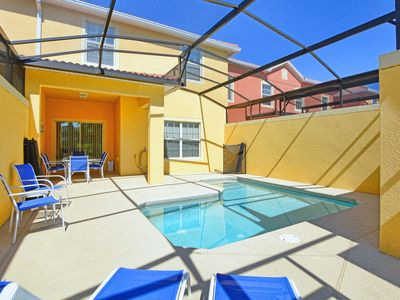 Photo for Private Pool*4 miles Disney*Paradise Palms Resort*Clubhouse*Gated*Cinema*Wifi*