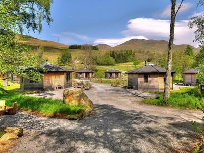 Photo for Holiday resort Woodland Cabins am Loch Tay, Killin  in Perthshire - 4 persons, 1 bedroom