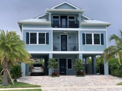 Photo for New Luxury Home w/Boat Dock, Private Pool & Spa, and (3)  min walk to Beach