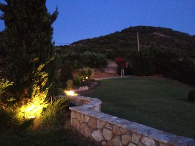 Photo for Large Private Villa Castro Kyllini Zante Sunset View on the famous Golden Beach