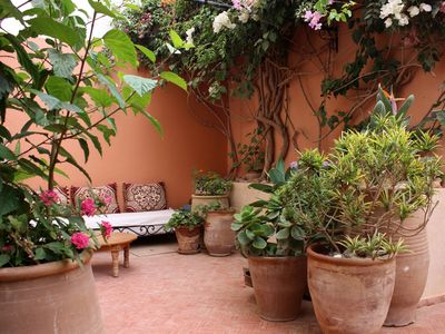 Photo for Large house and beautiful garden in the centre of Mirleft