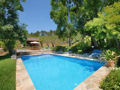 Photo for Pollenca Villa, Sleeps 12 with Pool and Air Con