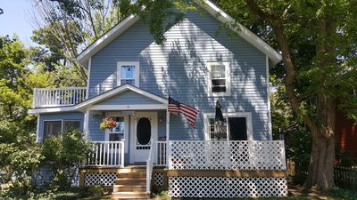 Photo for Classic, Cozy, Comfortable Cottage. Just Steps From The Beach