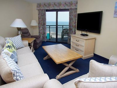 Photo for Sand Dunes North Tower 1704,  3 Bedroom Condo With Lovely Ocean Views,  Indoor Outdoor Swimming Pools, Hot Tub, Lazy River