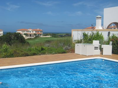 Photo for Villa with Private Pool with Golf and Sea Views with Wi - Fi included (AL/36765)
