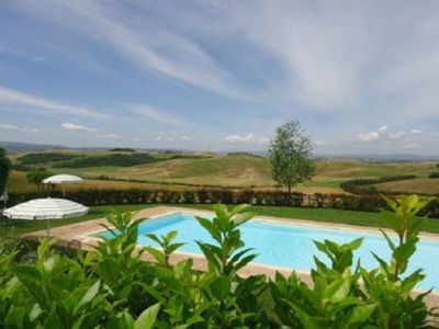 Photo for Loggiato 1: apartment for 2 people in a Tuscan farmhouse with pool