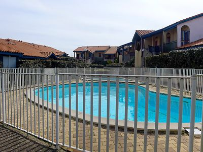 Photo for One bedroom Apartment, sleeps 4 in Capbreton with Pool and WiFi