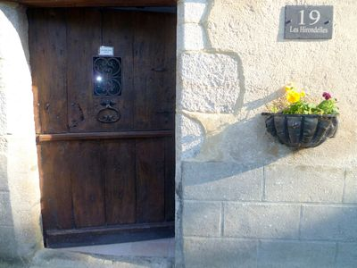 Photo for A riverside house in Bellac by a park with lovely views of the medieval town.