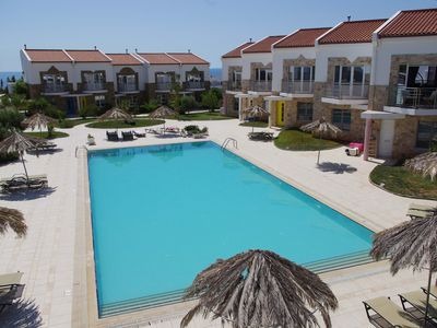 Photo for Grapevines Villa #8, sleeps 6, large pool, private grounds, Blue Flag beach