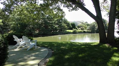 Photo for Quiet condo among the trees on Silver Lake w/ lakeside pool