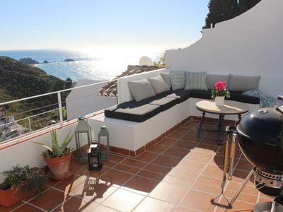 Photo for CASA VALENTINE -  750 meters from the beach - Pool, Jacuzzi and amazing views!.
