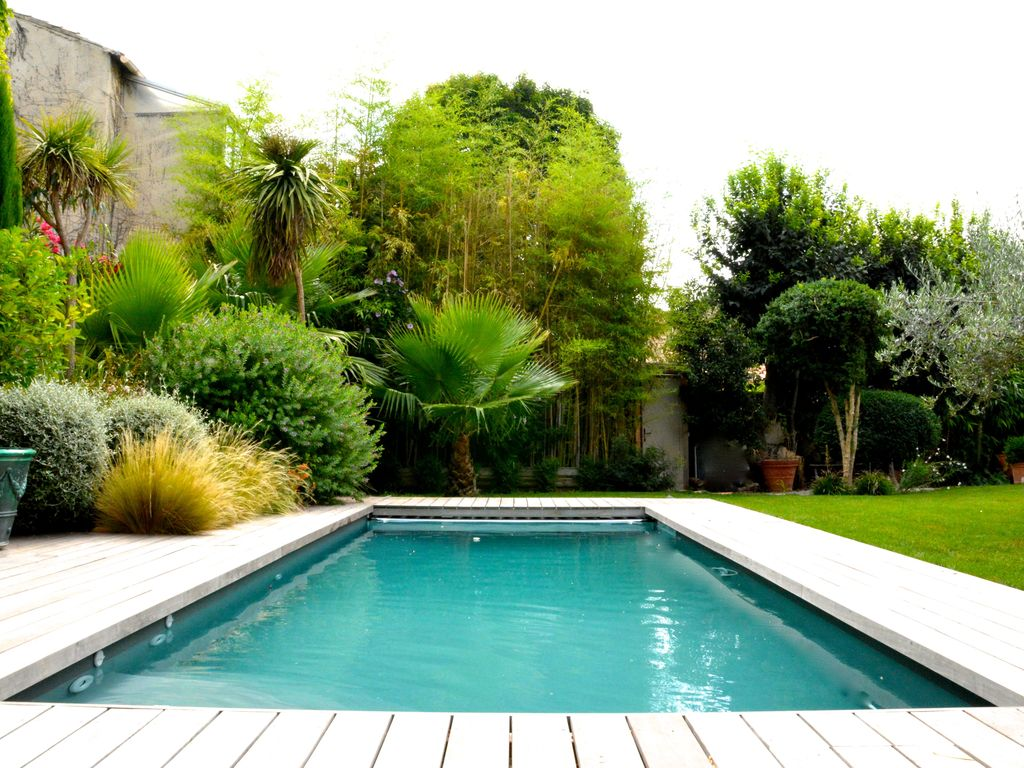 Contemporary Villa With Pool At The Heart Of Montpellier. Gares Villa Rental