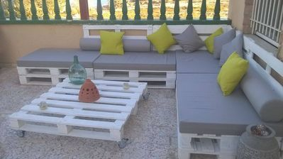 Photo for Charming bungalow with jacuzzi, Santa pola-Gran Alacant.