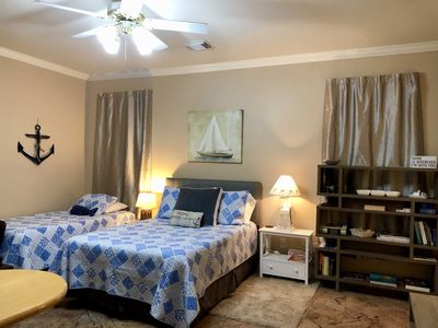 Photo for NEW LISTING! River Oaks Retreat ~ Studio / 1BA; Alarm; $57 Per Night