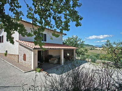Photo for Atmospheric villa with private swimming pool, panoramic view, 30 km from the sea