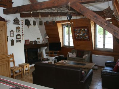 Photo for Decorated apartment style mountain in the heart of Cauterets