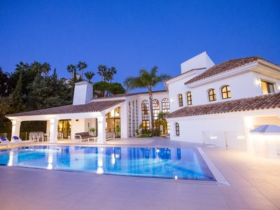 Photo for Luxury Villa, amazing large pool area, not over looked, close to everything.