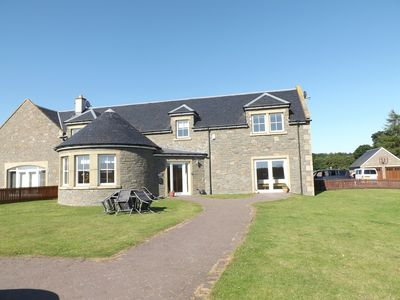 Photo for Luxurious but comfortable steading conversion on the banks of the River Tay.