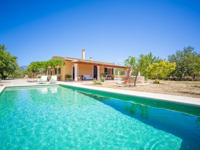 Photo for CAN MOSCARI - Villa with private pool in Inca.