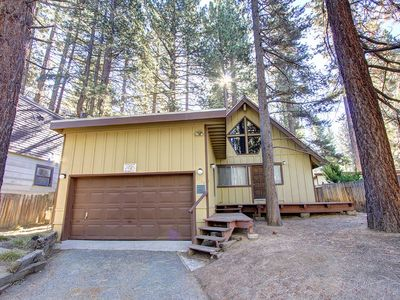 Photo for Pet Friendly South Tahoe Home w/Hot Tub (CYH0622)
