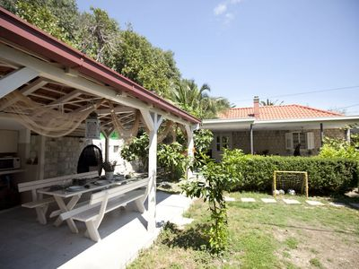 Photo for SPLIT CENTER! TOP LOCATION great holiday home at the Marjan forest park with garden