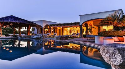 Photo for Tranquil Villa on a Jack Nicklaus Golf Course. Open-Concept Living, Infinity Pool, & Jacuzzi