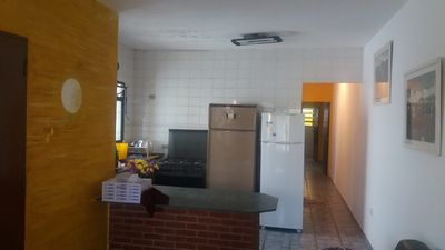 Photo for Itanhaém beach house S / P 300 meters from the beach, with solarium, Pet accepted
