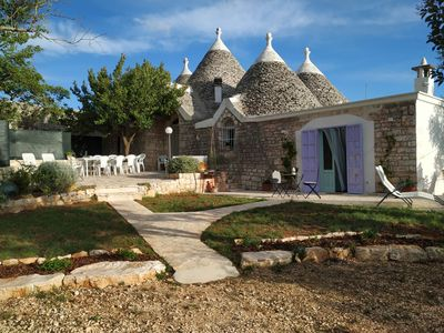 Photo for I Trulli di Zizì: Ancient Trulli in Valle D'Itria