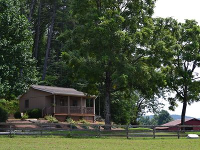 Photo for Tryon Cottage & Optional Horse Facility SPECIAL PRICE of $135  for 5/31-6/3