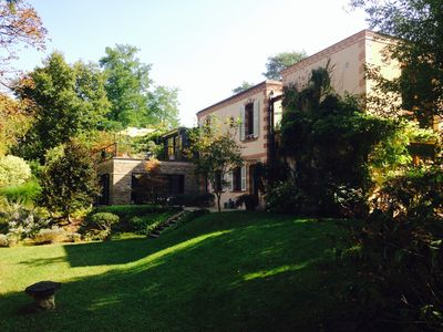 Photo for Superb architect villa with very large nature garden - South Fontainebleu