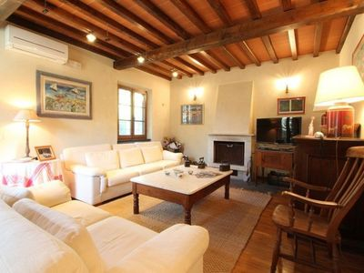 Photo for Castorino - Quality house, 5 People, Wifi, A/C, SAT, Private Garden, 10min from Sea
