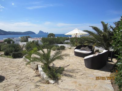 Photo for Casa Columnas is atractive villa with a wonderful view to the sea .