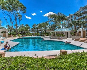 Photo for Palmetto Dunes Resort - Oceanfront. Pool and garden view.