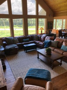 Photo for Beautiful Mountain Home 2 Miles to Ski, Hot Tub, Pet Friendly - Dogs/Horses