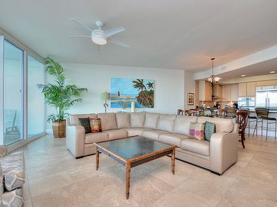 "Photo for Great View of the Bay and Lazy River - 55"" Smart TV - 1PM Check-in Option"