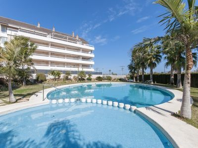 Photo for ASSAGADOR - Apartment with shared pool in Denia.