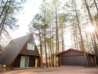 Photo for Vacation Cabin: Stay At the Newly Remodeled A-Frame, Near Payson, Arizona