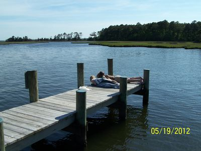 The dock and non-motorized boat ramp is only 1 mile - easy walk - bike - drive