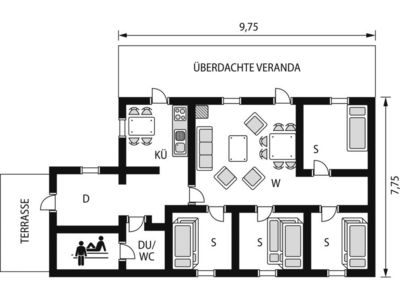 Photo for Vacation home Kilberget (HJD027) in Vemdalen - 6 persons, 3 bedrooms