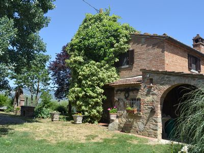 Photo for Nice house in the country of Cortona.