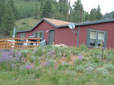 Photo for Distinctive Vacation Retreat w/ Hot Tub, Private Valley and Views!!