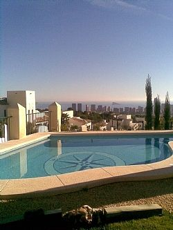 Luxury Villa Private Pool Fantastic Sea View Near Benidorm Theme Parks