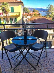 Photo for Large apartment opposite the Hotel Dino, Baveno. No need for a car.