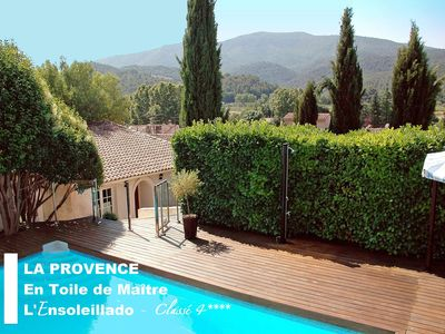 Photo for Discover the PROVENCE in CHARMING House 4 *, Swimming pool, Sauna, VUE Sainte Baume