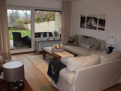 Photo for Luxury apartment Harzperle with swimming pool and sauna in central location